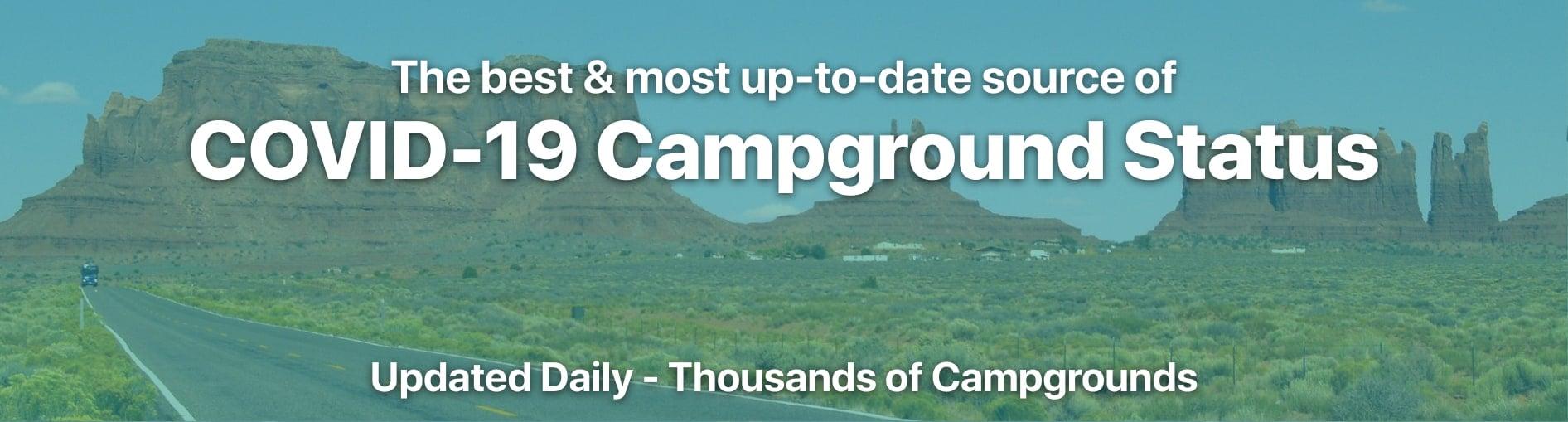 COVID-19 Campground Closures